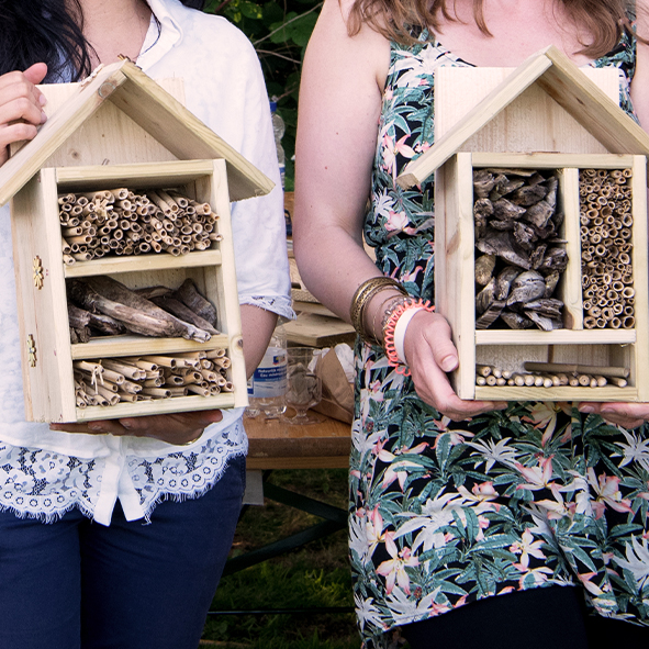 Insectenhotels bouwen